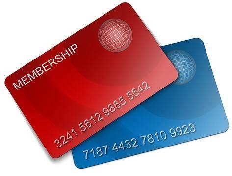 Ledenkaart met barcode of chipkaart